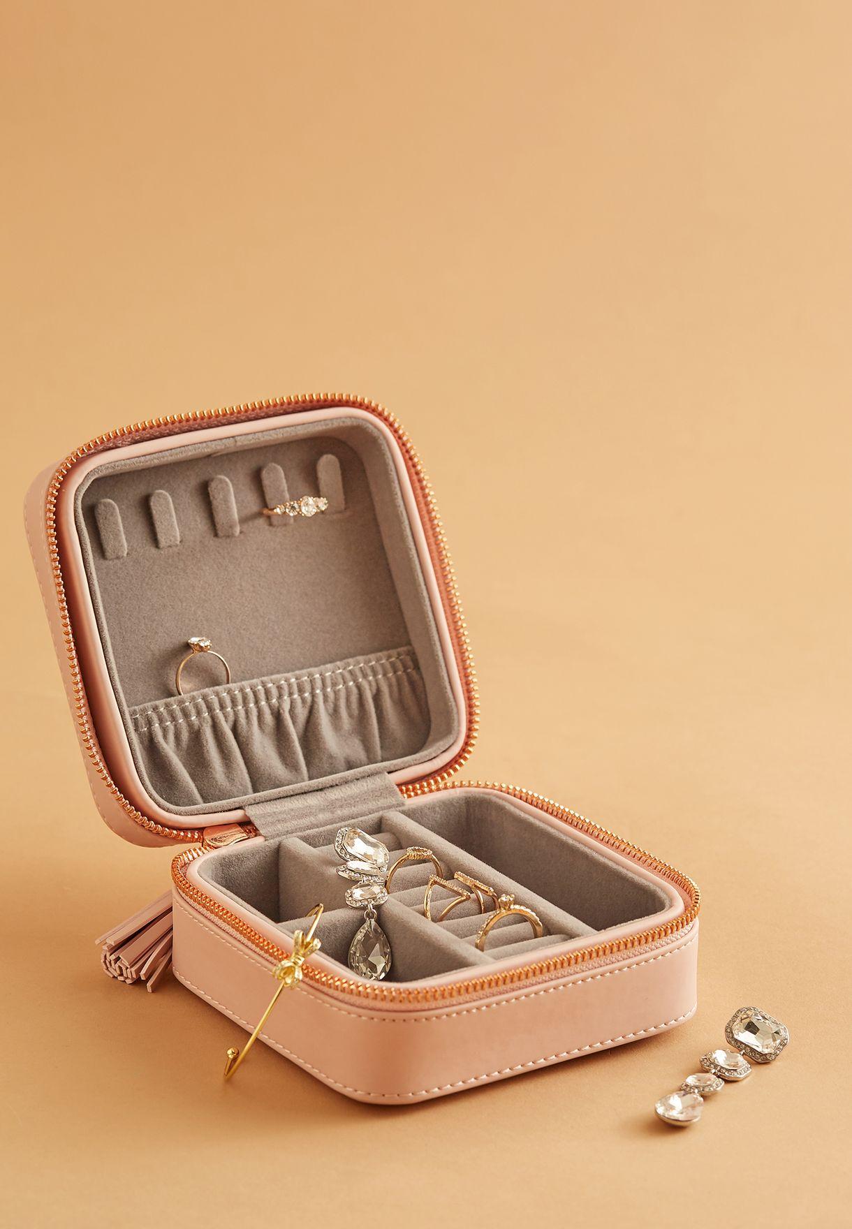Zip Jewellery Case