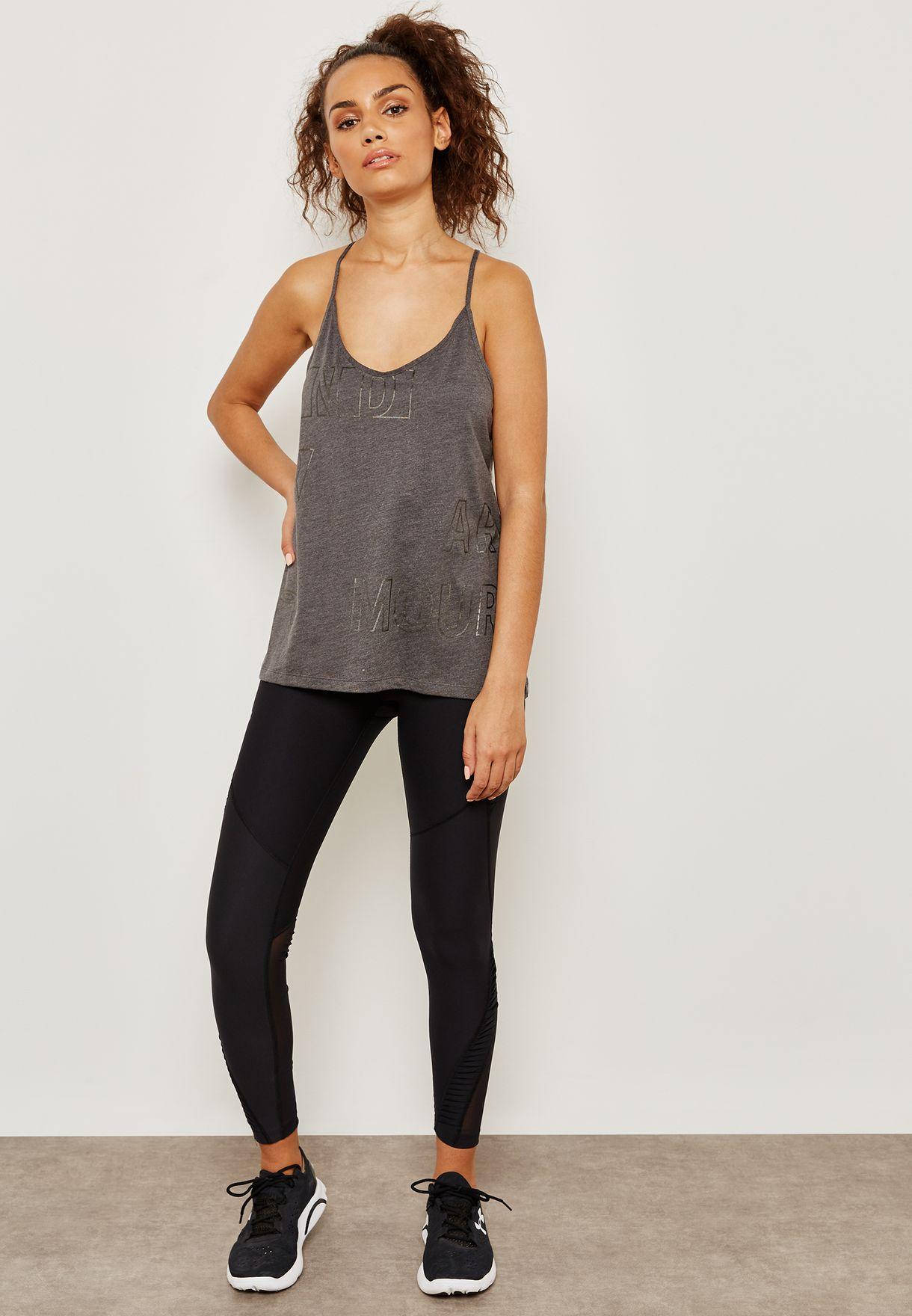 Graphic Metallic Tank