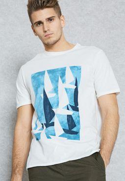 Sail Printed T-Shirt