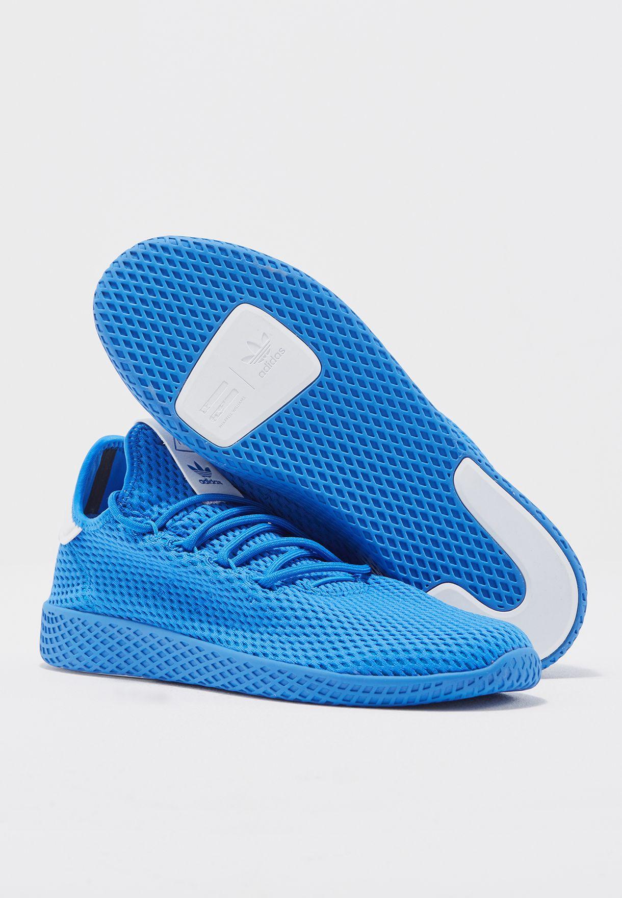 buy popular e5d45 e2f5a Shop adidas Originals blue PW Tennis HU CP9766 for Men in UAE ...