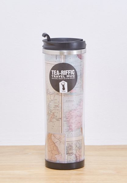 Map Tea-Riffic Travel Mug