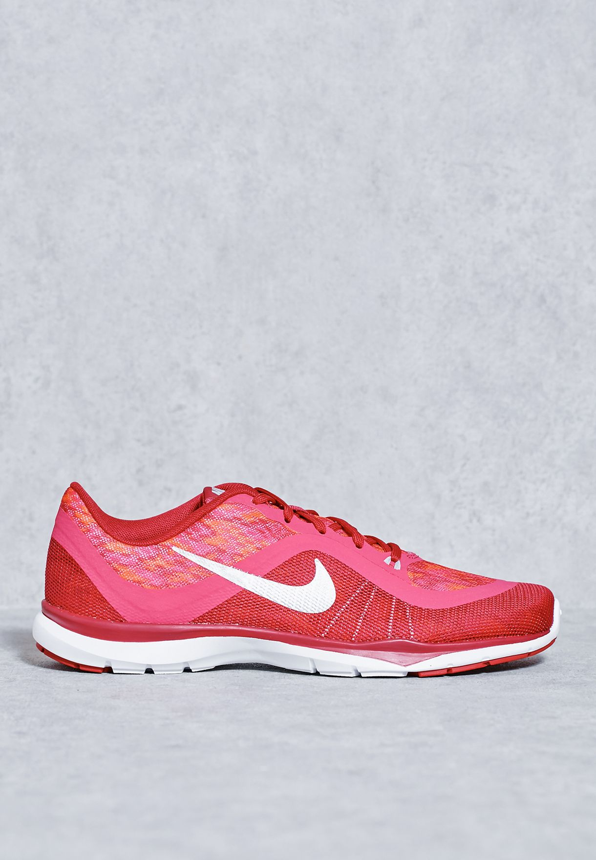 783507992471 Athletic Shoes Womens NIKE FLEX TRAINER 6 PRINT Running Trainers 831578 600