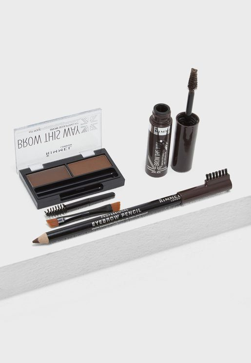 Raise Your Brow Game Kit Dark Brown