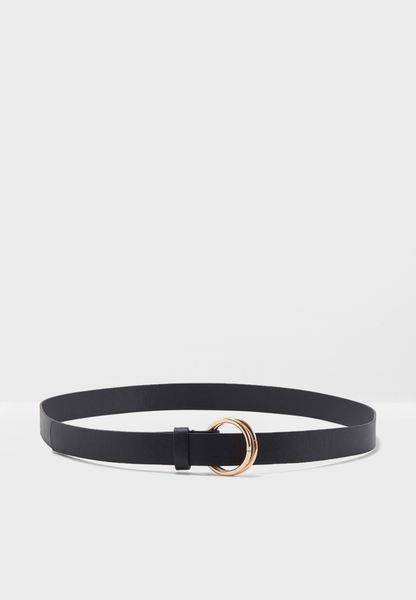 Adjustable Double Circle Waist Belt