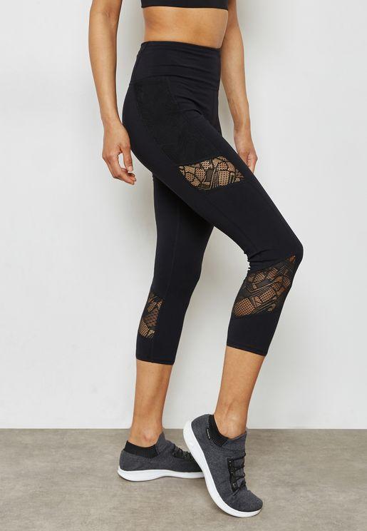 Lace Detail Leggings