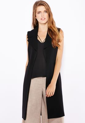 Dorothy Perkins Longline Sleeveless Jacket