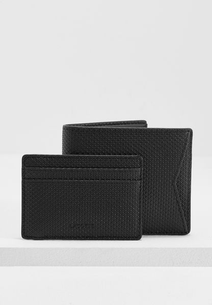 Large Leather Wallet + Cardholder