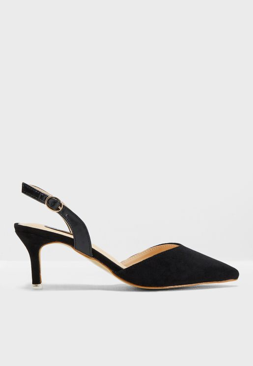 Acha Heeled Pumps