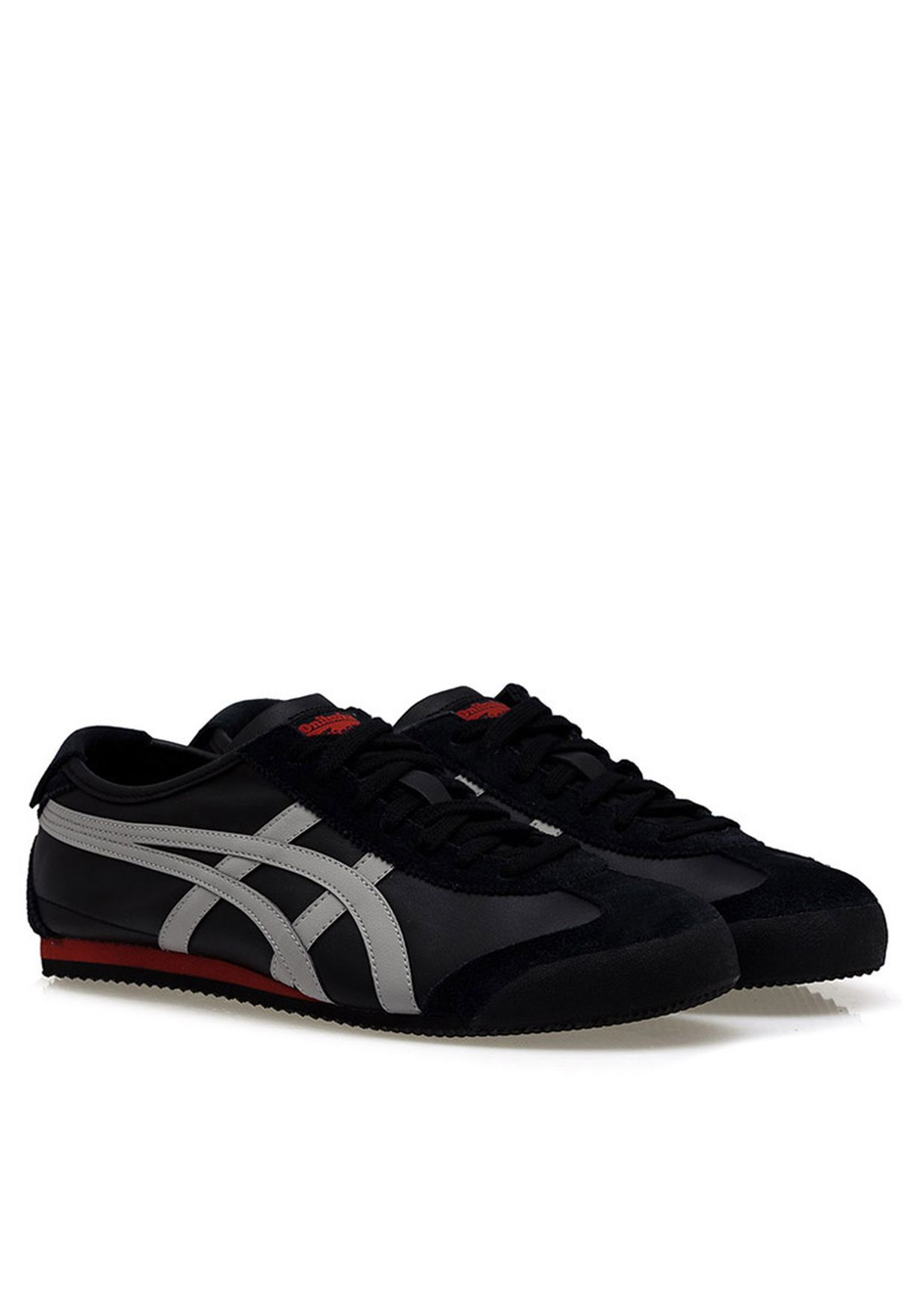 2f90ec71b948 Shop Onitsuka Tiger black MEXICO 66 Low Top Sneaker for Men in Qatar -  ON045SH26ANH