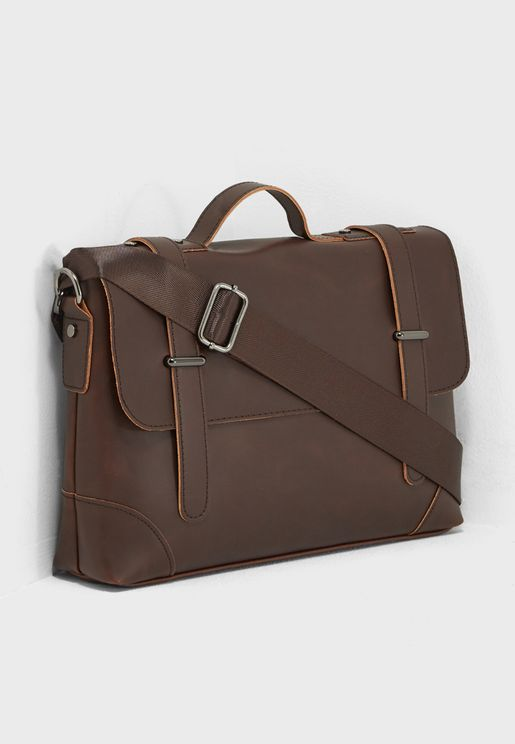 Belted Box  Backpack