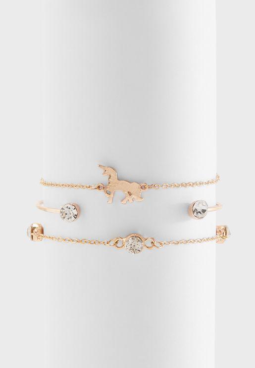 Multipack Unicorn Bracelets