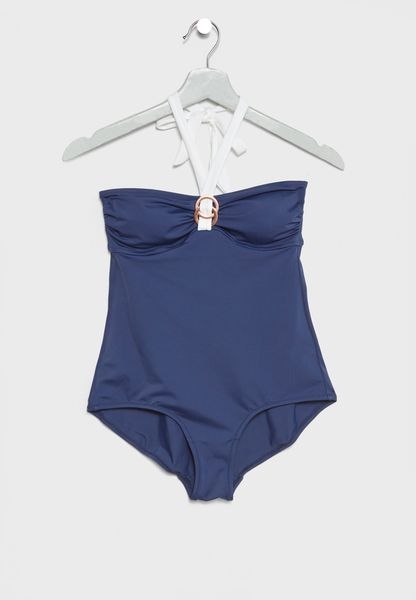 Halter Neck Swimsuit