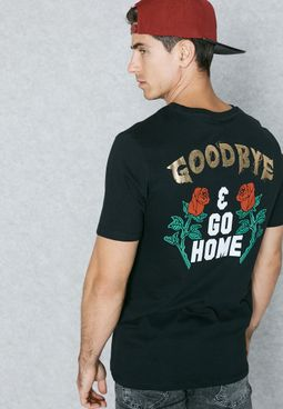 Flower Printed T-Shirt