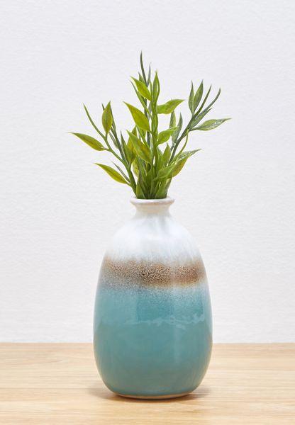 Dip Glazed Tall Vase