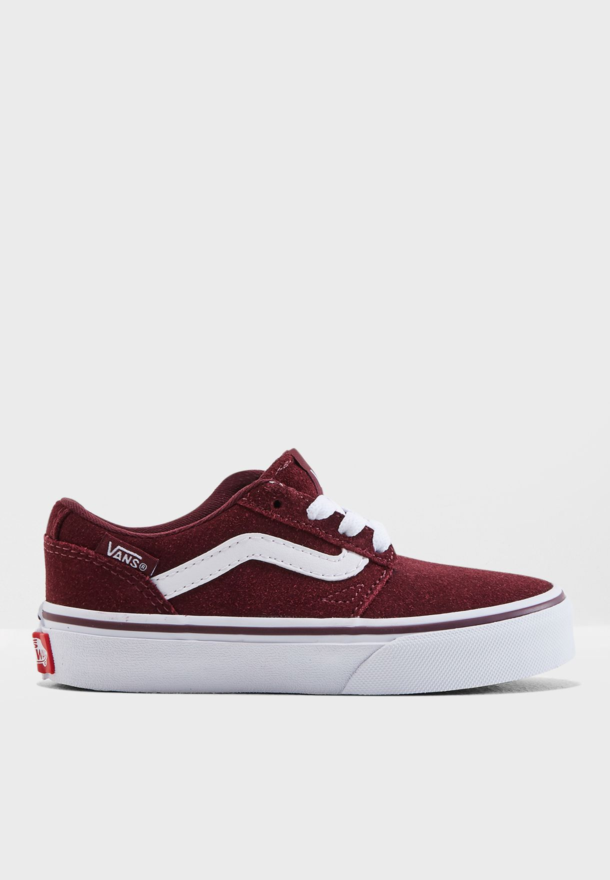 e61ada6a2b Shop Vans burgundy Youth Chapman Stripe 8J26DZ for Kids in UAE ...