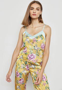 Oriental Pyjama Cami Top