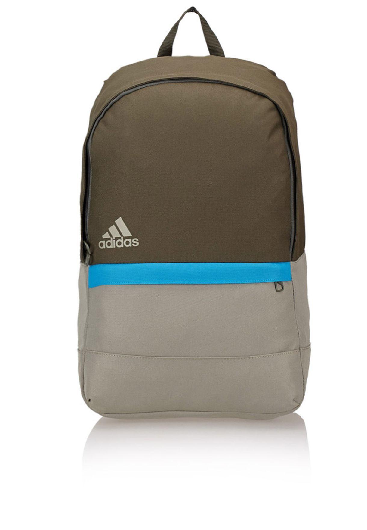 46a27d817089 Shop adidas beige Versatile Block Backpack M66755 for Men in Qatar -  AD476AC26RSJ