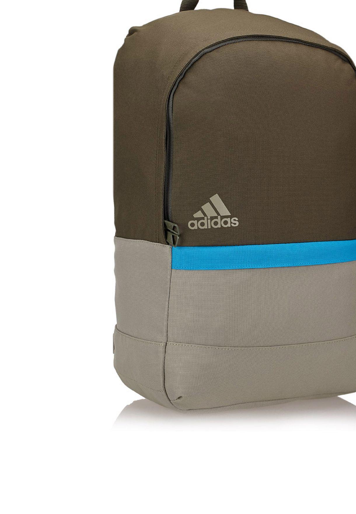 e090cc9ba5ff Shop adidas beige Versatile Block Backpack M66755 for Men in Qatar ...