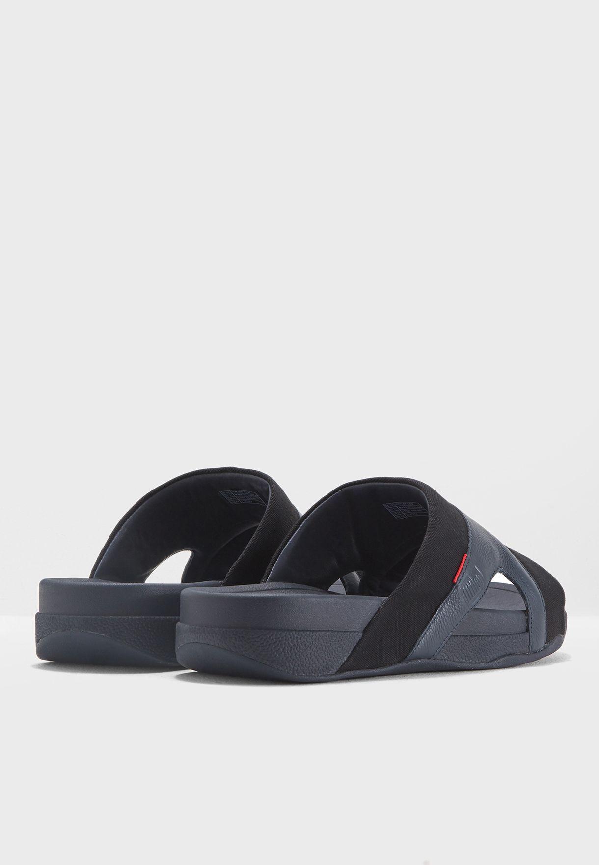 8503c811a505e6 Shop Fitflop navy Freeway Pool Slide Sandals K98-401 for Men in UAE ...