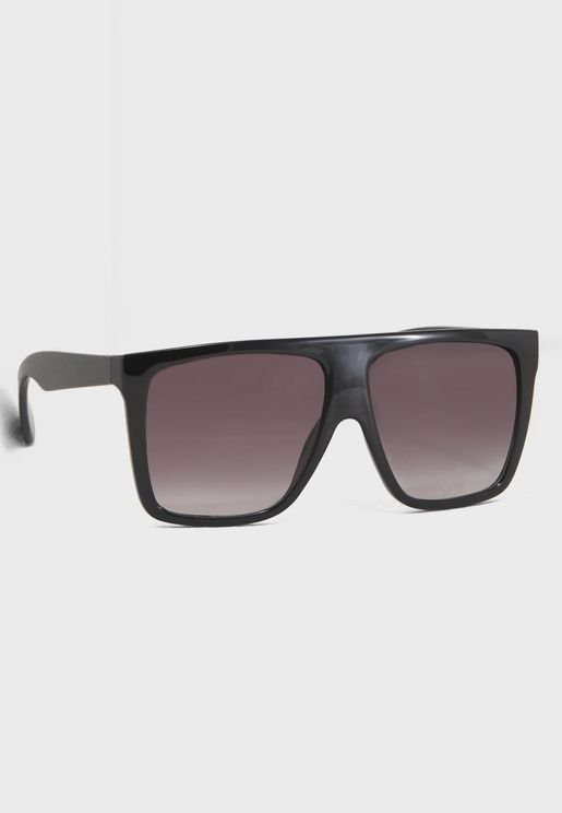 Elle Flat Top Sunglasses