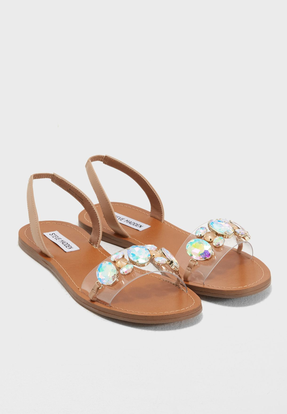 ce8307f890e Shop Steve Madden browns Alice Flat Sandals ALICE for Women in UAE ...