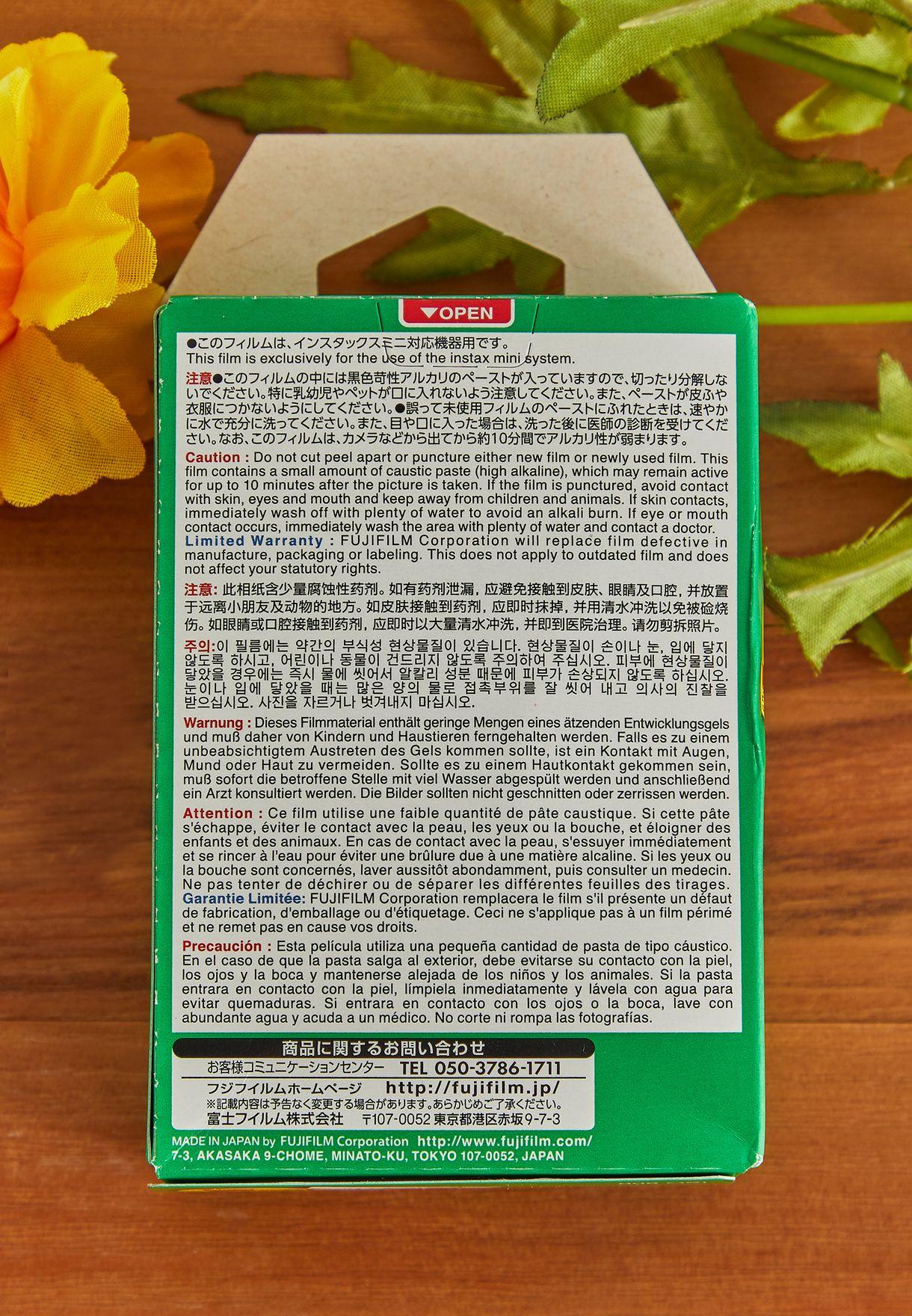 2 Pack Mini Instax Film