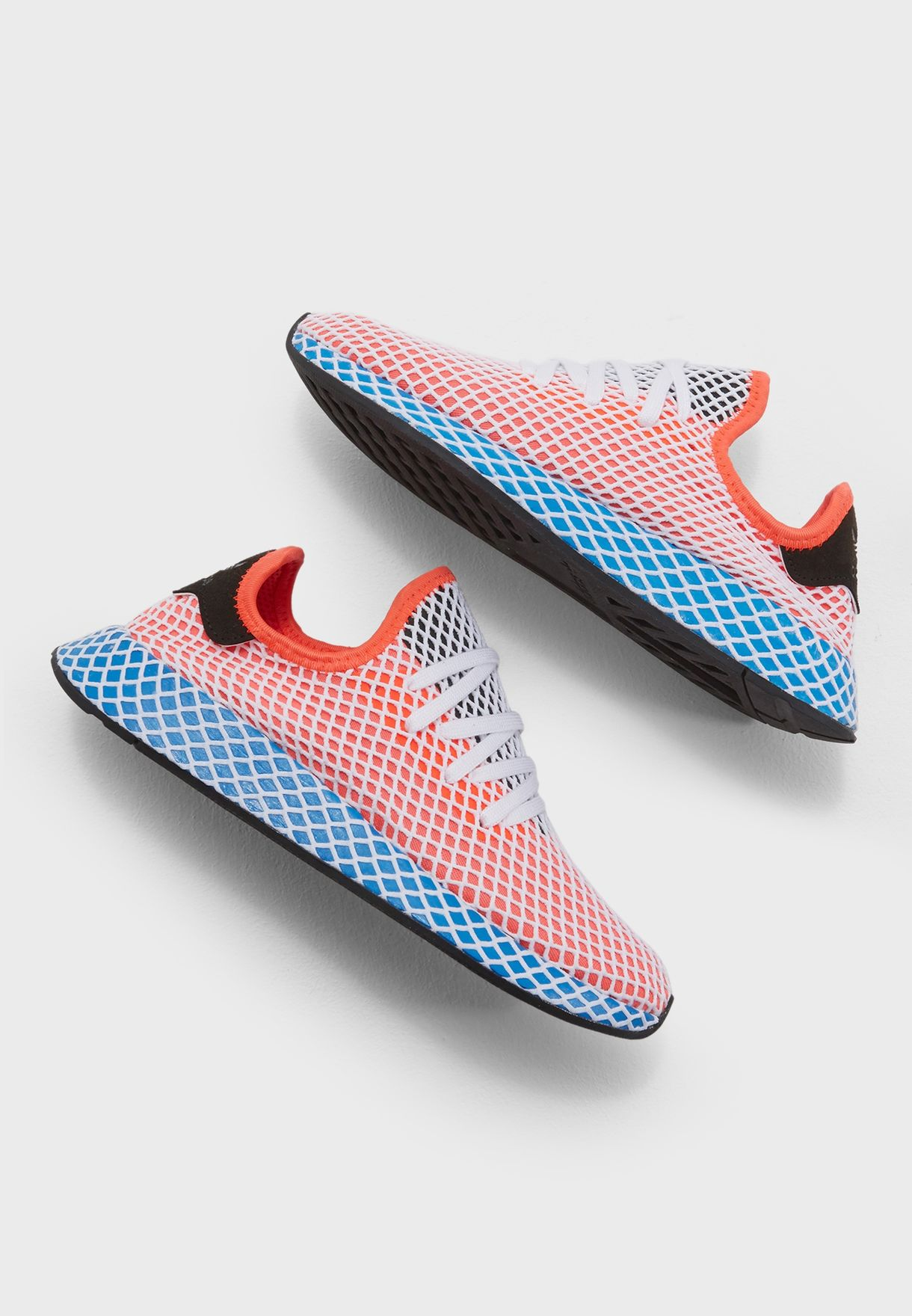 193e7cd222d11 Shop adidas Originals orange Deerupt Runner AC8466 for Women in UAE ...