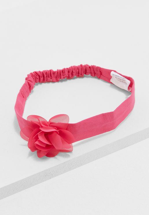 Kids Flower Fruffle Hairband