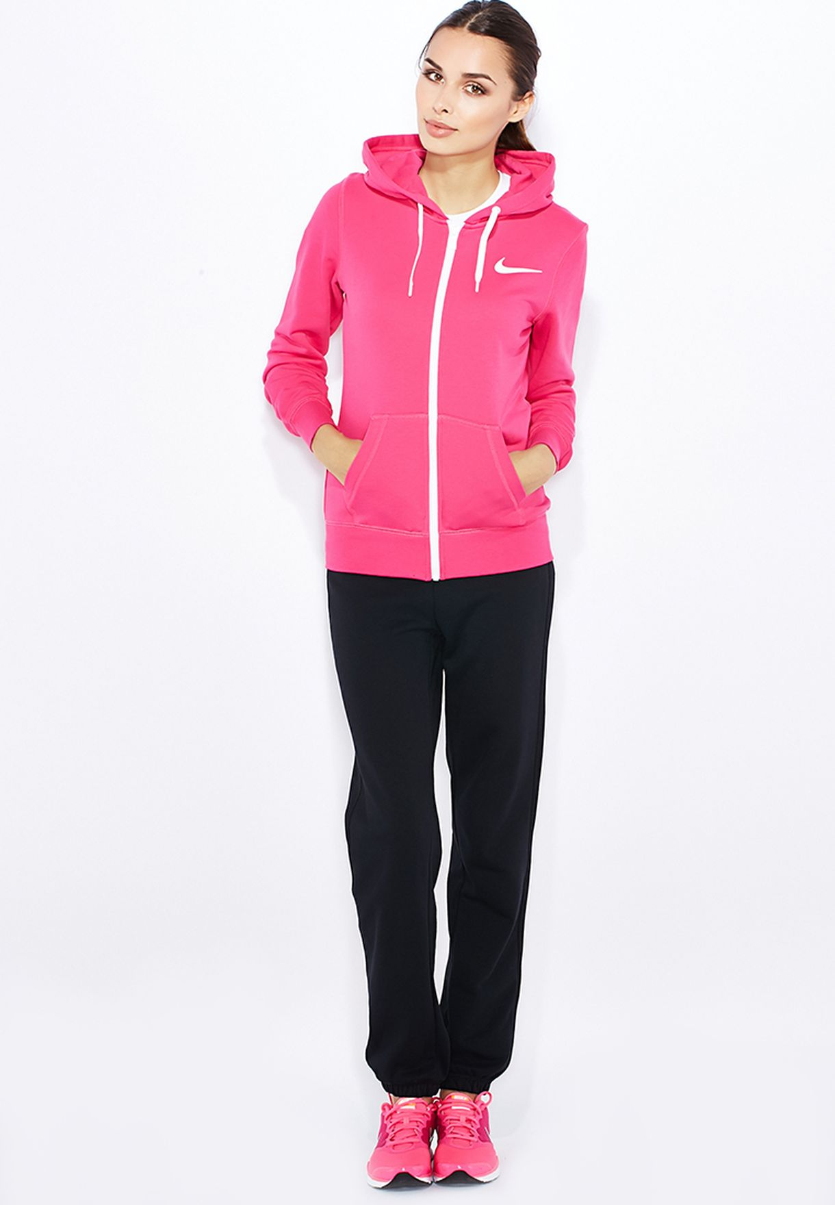 f77bfbb138a6 Shop Nike multicolor Club Fleece Track Suit 645428-612 for Women in ...