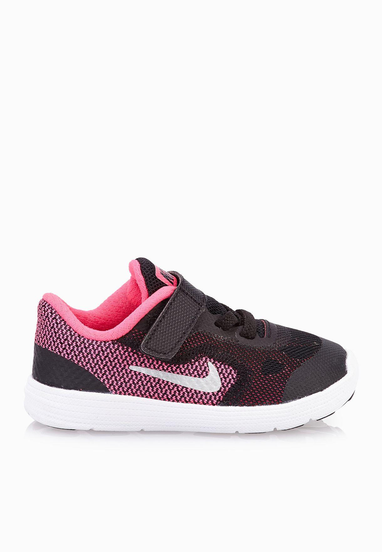 bbe3a8748 تسوق حذاء رياضة Revolution 3 ماركة نايك لون متعدد الألوان 819418-001 ...