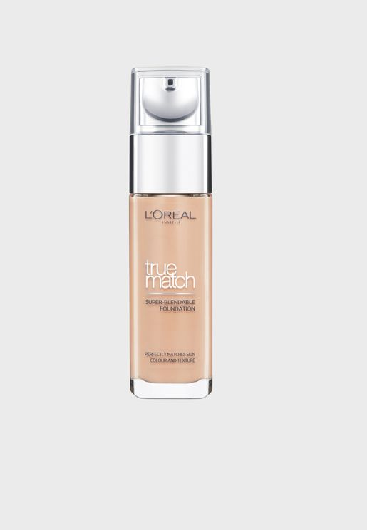 True Match Liquid Foundation 7D7W