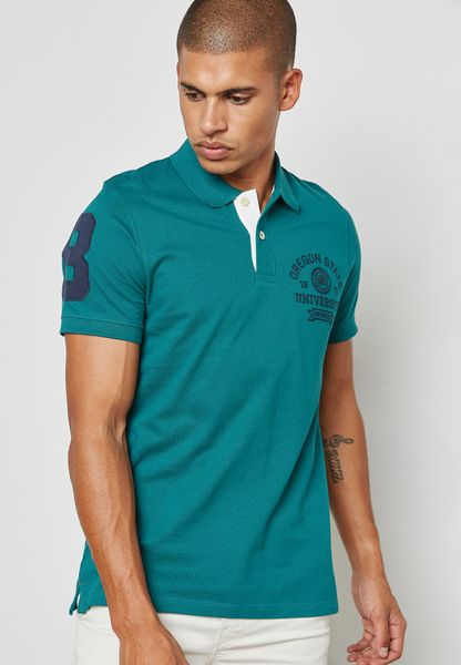 Denver Printed Polo