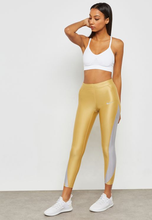 Speed Metallic 7/8 Tights