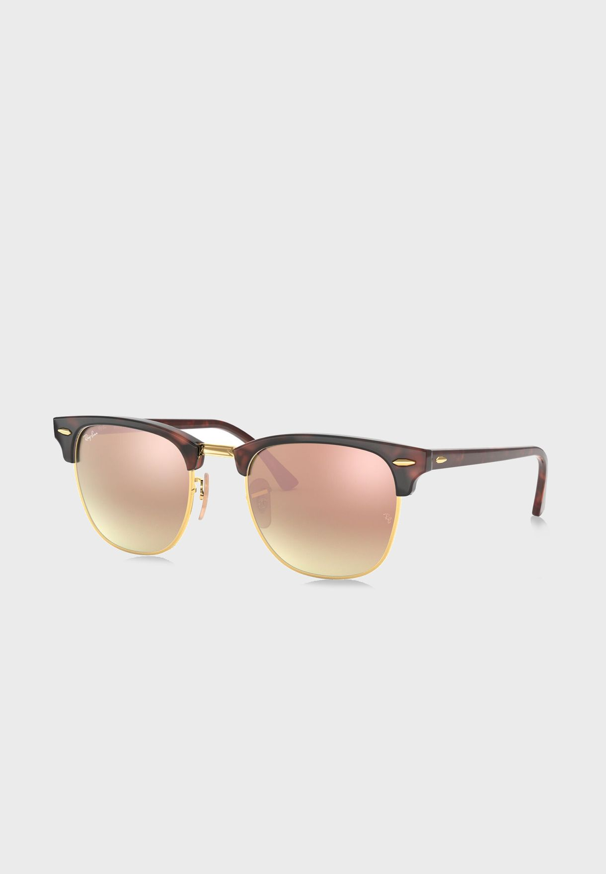 RB3016 Clubmaster Flash Lenses Gradient