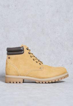 Stoke Nubuck Boots