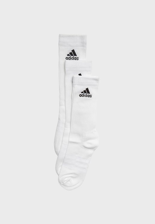 3 Pack Performance Crew Socks