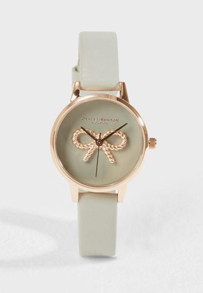 Vintage Bow Analog Watch