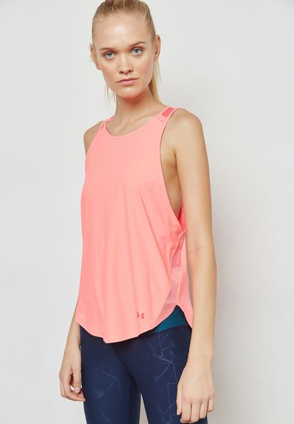 Vivid Key Hole Back Tank top