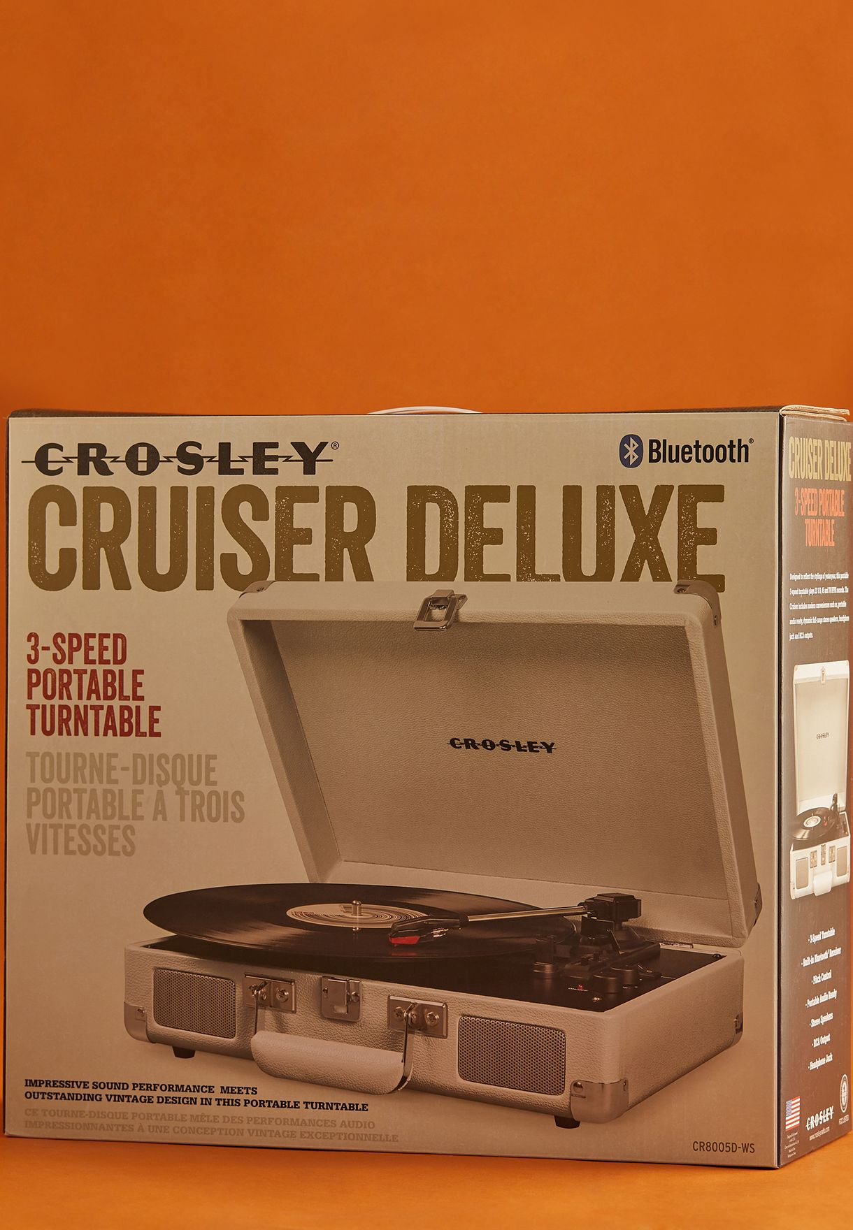 Cruiser Deluxe Portable Turntable