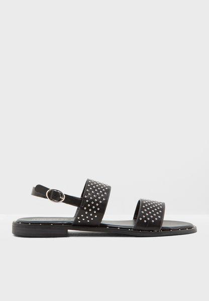 Flat Jute Sandals
