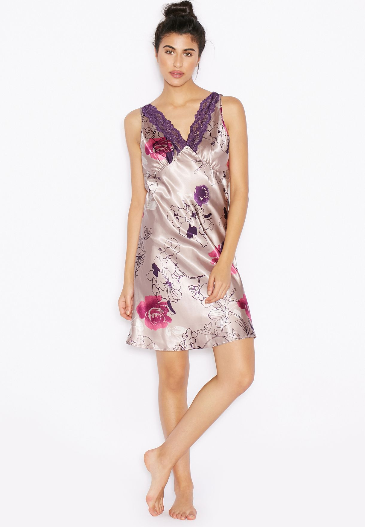 Shop Outdoor prints Printed Nightdress for Women in Saudi - OU616AT26HGZ c613ac3a8