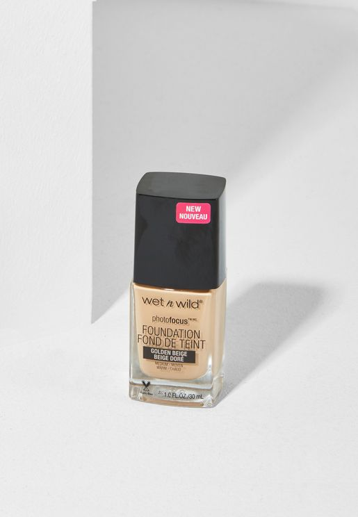 Photo Focus Foundation - Golden Beige