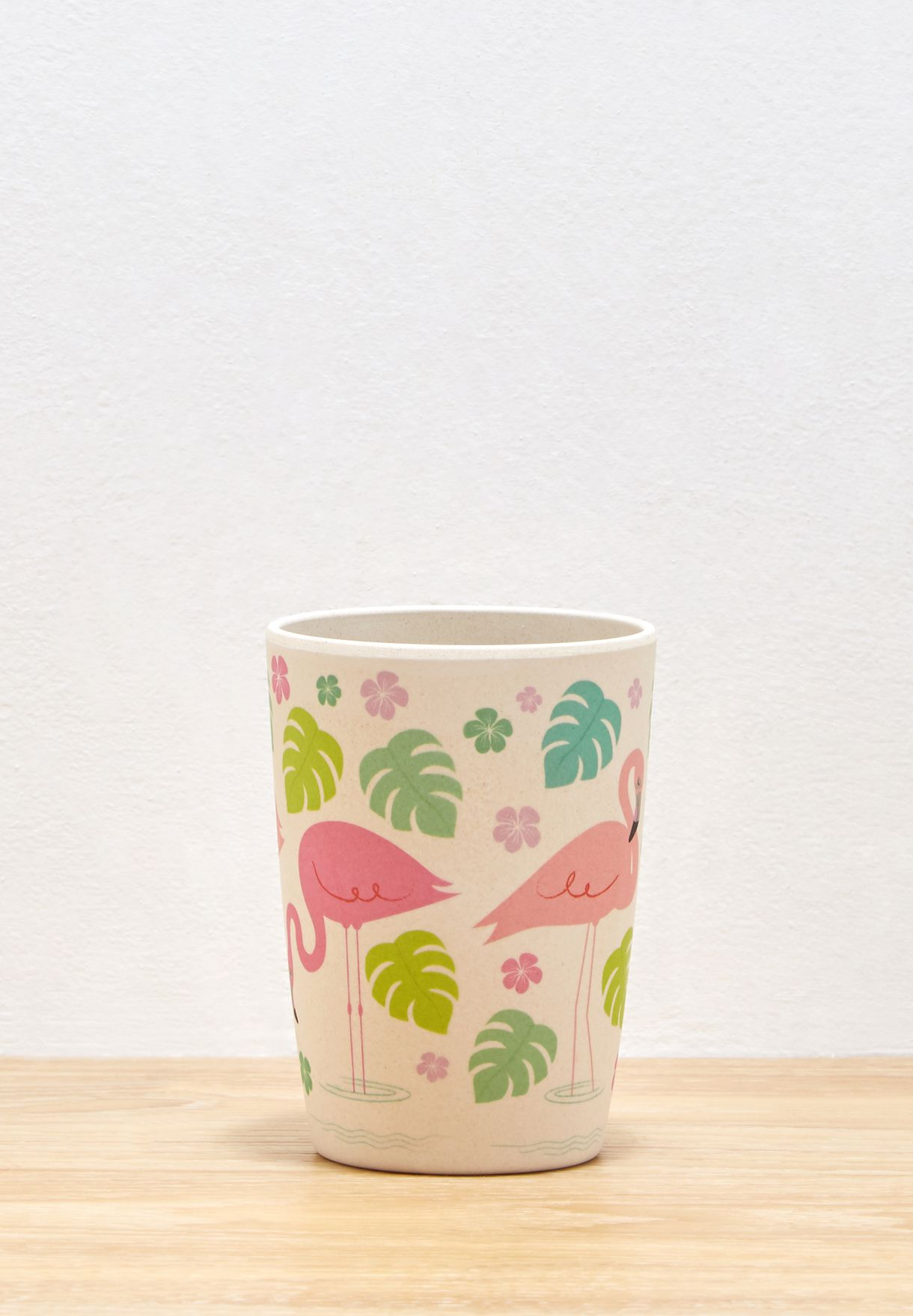 Flamingo Bay Bamboo Beaker