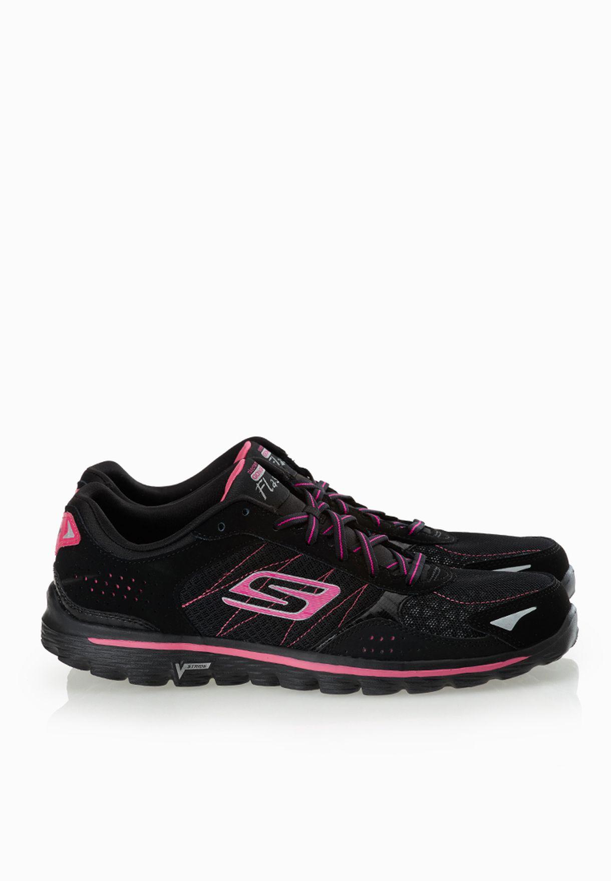 Shop Skechers Black Go Walk 2 Flash 13960 Bkhp For Women In Globally