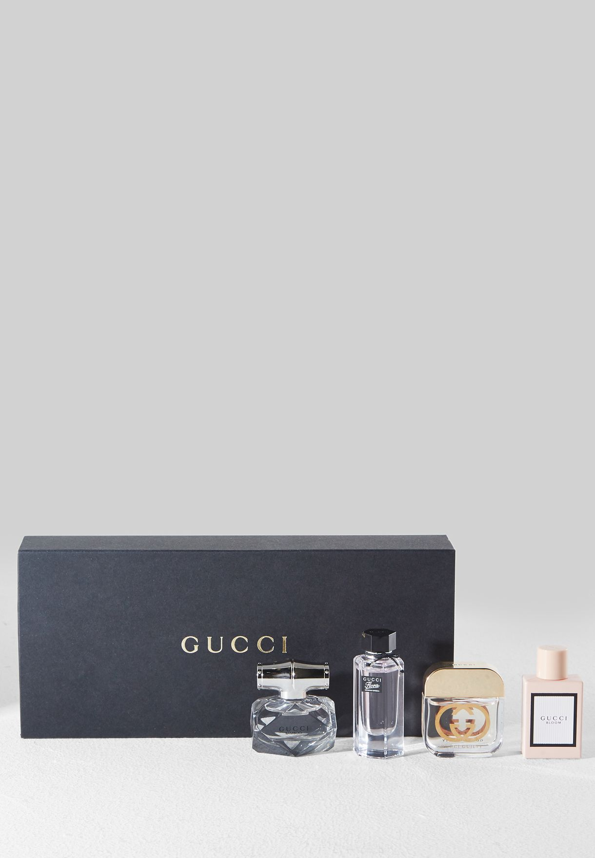355c857b930 Shop Gucci clear Flora Bamboo Guilty Bloom 4x5ml 8005610259277 for ...