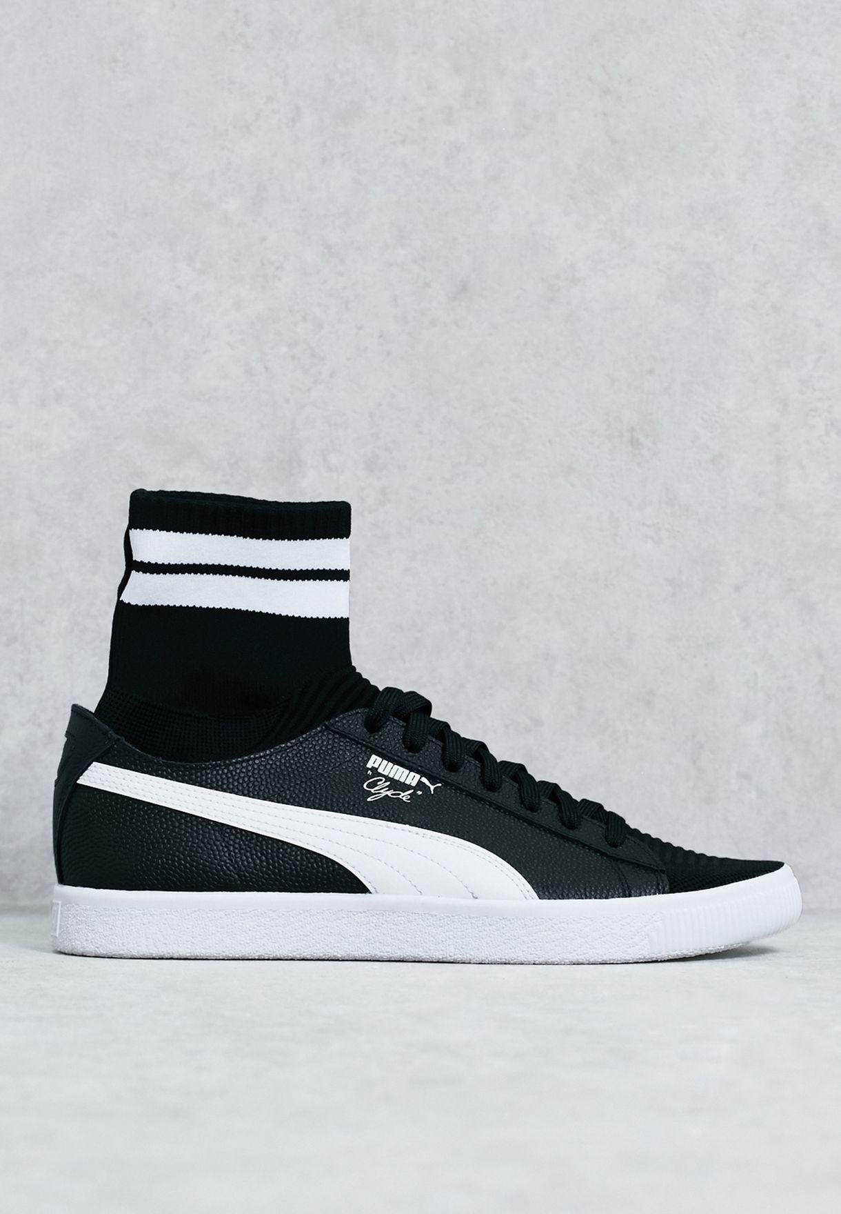 pretty nice a0433 627f1 Shop PUMA black Clyde Sock NYC 364948 01 for Men in Qatar - PU020SH26YCJ