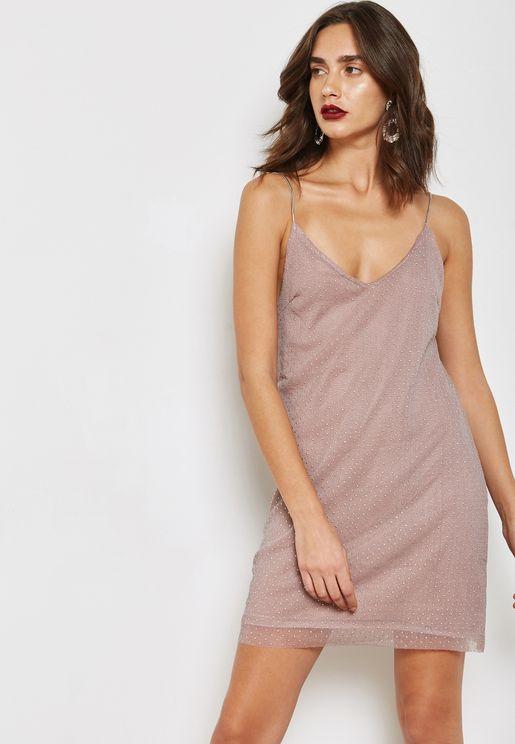 Studded Slip Dress