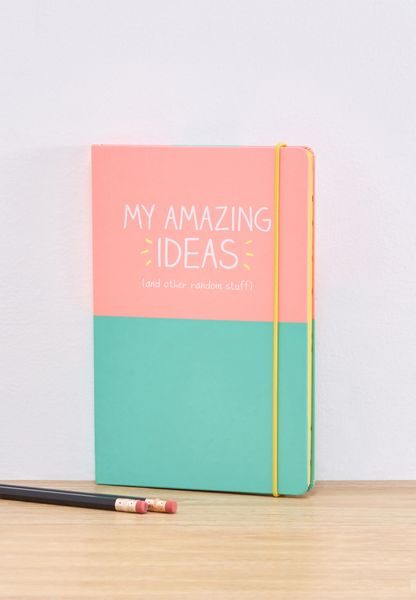 My Amazing Ideas Notebook A5