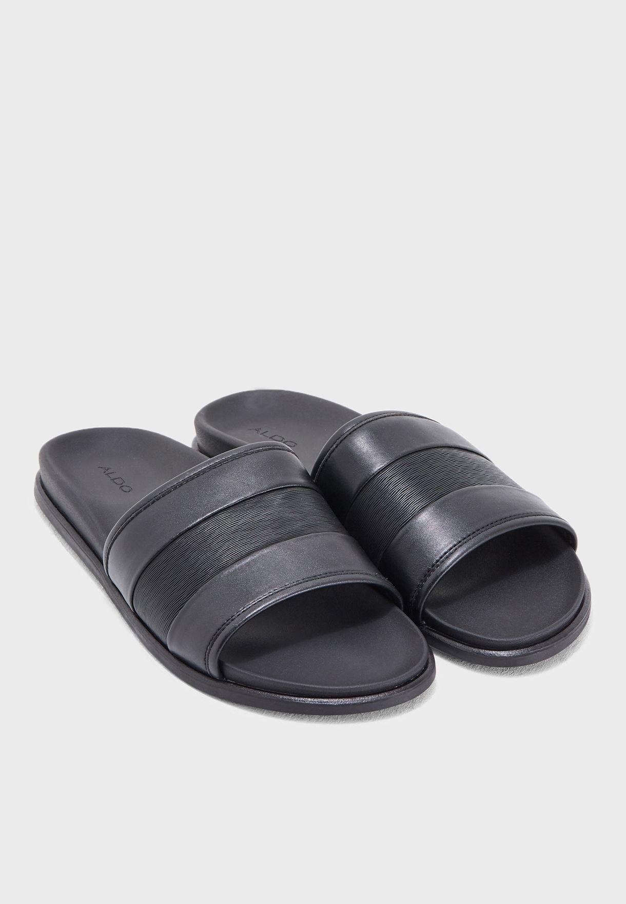 49be6ddb4cf8 Shop Aldo black Flickinger Slides FLICKINGER97 for Men in UAE ...