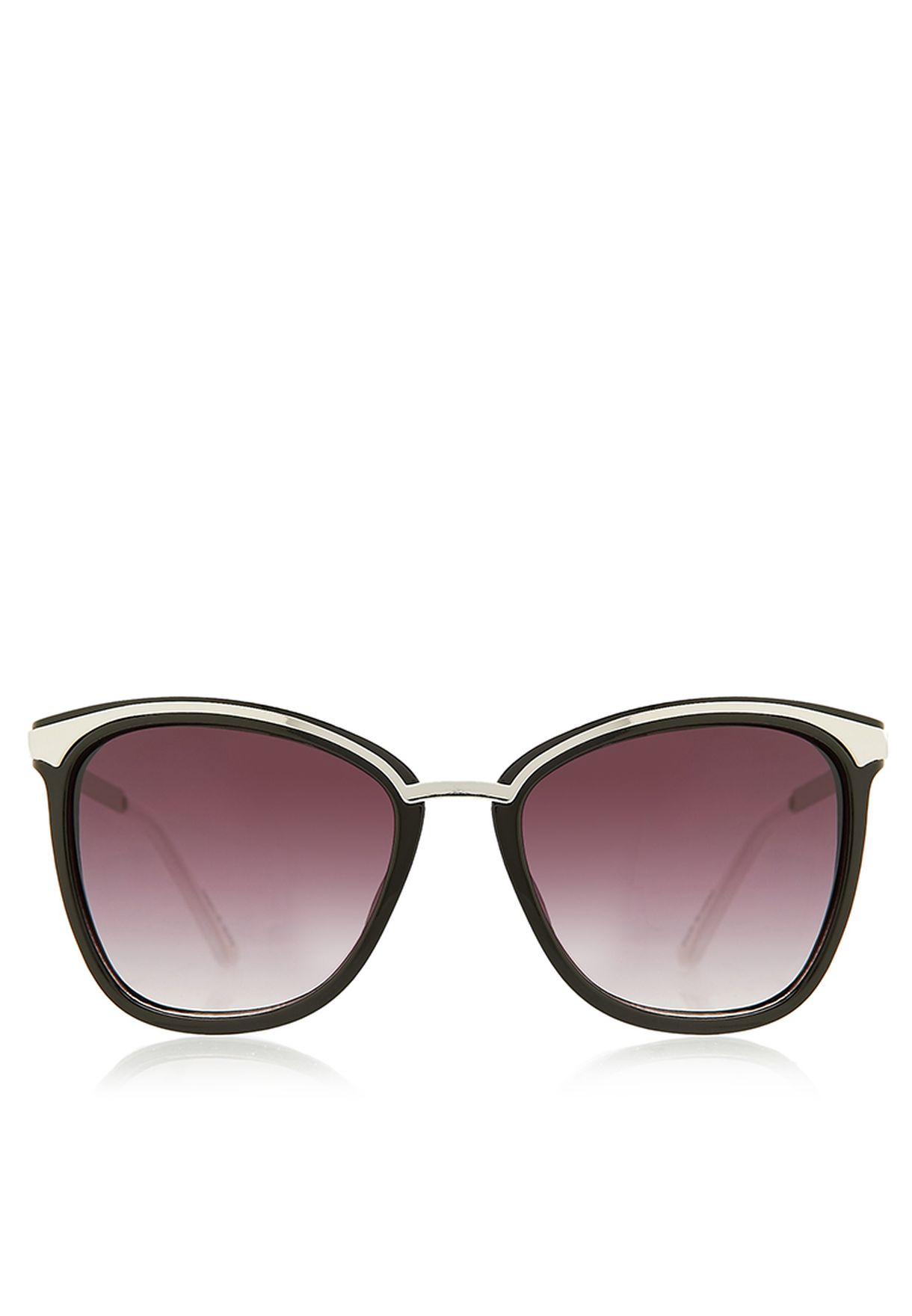 762ce9ddcb69 Shop Jeepers Peepers black Zara Trendy Sunglasses for Women in UAE ...